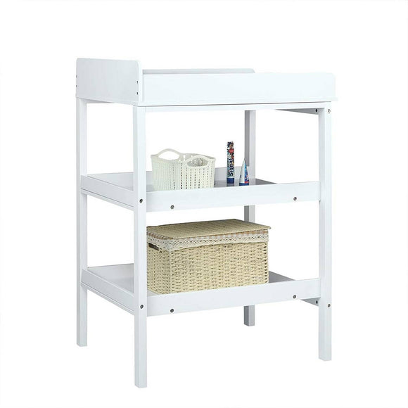 Our simple but fresh-looking Little Helper three-tier baby changer designed to suit any nursery decor
