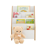 This white wooden bookcase complements all other furniture in Little Helper's range and is perfect for bedrooms and playrooms.