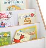 Developing young minds is Little Helper's watchword so this clean and classic bookcase is perfect for little readers