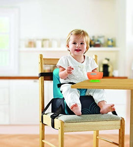This stylish travel booster seat is stable and secure with a strong frame to accommodate a toddler or child up to 15 Kg.