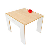 This Little Helper FunStation Duo table has room for 2 toddlers and includes a pot in the desk top for bits and bobs