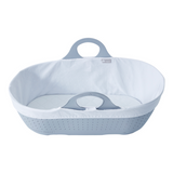 This safe, stylish and portable moses basket is for baby's naps around the house or out and about.