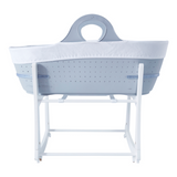 The Moses Basket helps to keep your baby close by your side with the reassurance of a safe sleeping environment.
