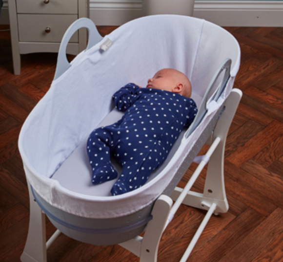 When your baby arrives, it's recommended that they sleep in the same room as you for the first six months.