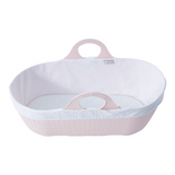This safe, modern, stylish and portable Moses basket is perfect for baby's naps around the house or out and about.