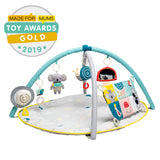 Babies will go gaga for this soft baby play gym, engaging play space.