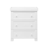 It includes three large drawers to keep nappy changing essentials close to hand.