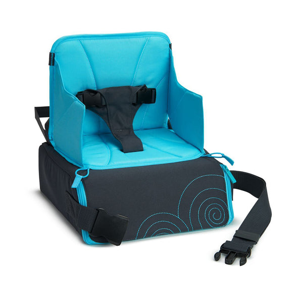 The Travel Booster Seat is exactly what parents need for on-the-go dining - a fuss-free feeding for restaurants & holidays