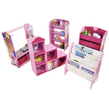 There are various matching items in this collection - storage, bookcase and a dress up rail