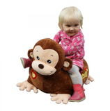 This super soft and super cute monkey cushion seat  is perfect for your little one's little bottoms