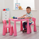 This enables your little ones to enjoy their arts and crafts one minute, and a picnic in the garden the next!