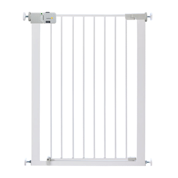 This Simple Close Pressure-Fit Metal Extra Tall Safety Gate combines simplicity & quality in a U-shaped pressure-fit gate.