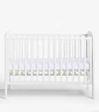 Treetops Cot with Dropside | Pure White