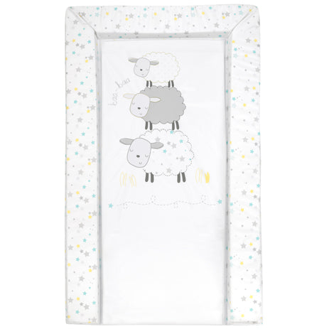 Perfect sized Baby Changing Mat in snoozy sheep style print