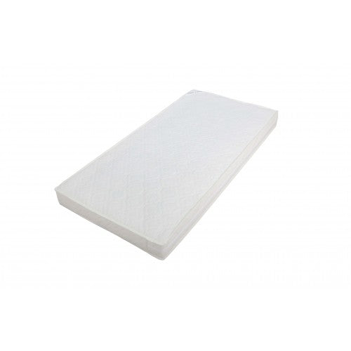 Spring mattress with washable cover, 120cm x 60cm