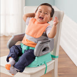 2-in-1 infant feeding seat with or without tray & toddler booster seat at table