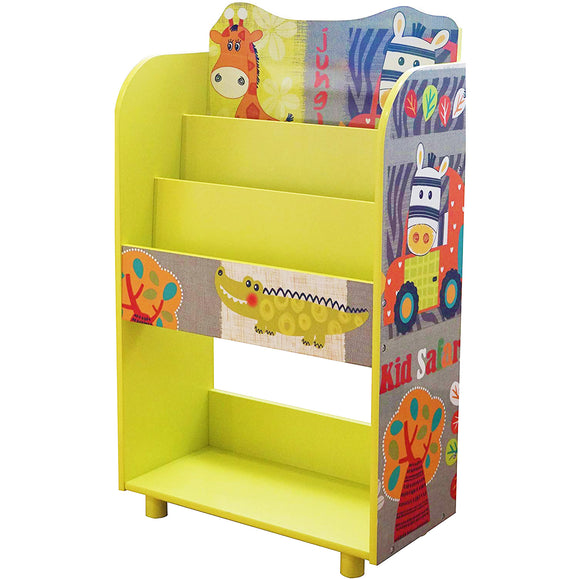 This handy bookshelf is a great storage unit in any child's bedroom or playroom.