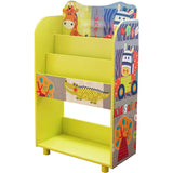 This handy Safari themed bookcase and bookshelf is a great storage unit in any child's bedroom or playroom.
