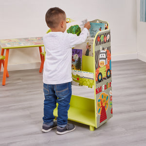 Bright colours and animal designs adorn our Kid Safari Animals Collection of modern kids furniture.