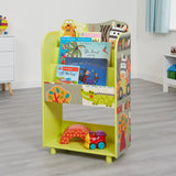 This handy book case and toy storage unit is a great storage unit in any child's bedroom or playroom.