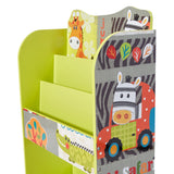 This handy bookcase and toy storage unit is great for any child's bedroom or playroom