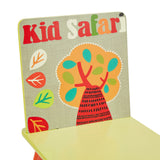 Super cute & colourful desk set for the animal loving tot