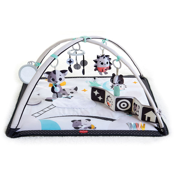 Multi sensory  Baby Activity Gym, Baby Play Mat and Baby Gym with baby activated musical toy with 3 melodies.