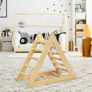 This indoor toddler climbing frame is perfect for children who love to climb and for rainy days where they can't go outside.