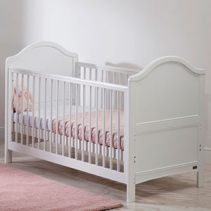 The gorgeous French White Wooden Cot Bed has teething rails, giving your child the maximum protection from harm.