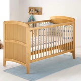 The Venice Cot Bed features tongue and groove look end panels with a gentle curved shape, making it stylish and practical.