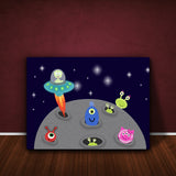 Our Feel Good Art nursery wall art livens up any nursery or playroom - choose from wall stickers, framed prints and canvases