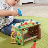 28 Piece Tool Set For Kids | Kids Tool Bench | Wooden Toy | 3 years+