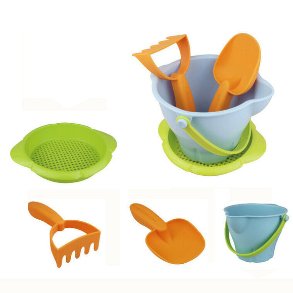 Soft Bucket & Spade Set | Outdoor Kids Toys for Sand Pit | 3 years+