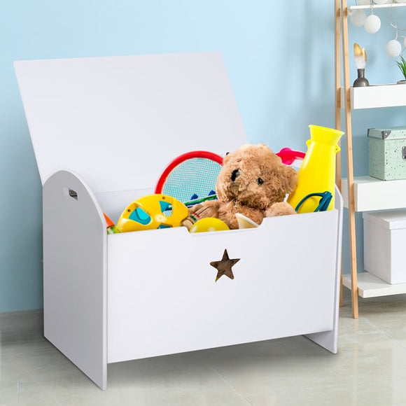 Tired of playing fetch every time your cheeky monkeys throw their toy across the room? here is our kids toy storage box