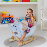 Our traditional rocking toy with elephant modelling will turn your home into a magical wonderland