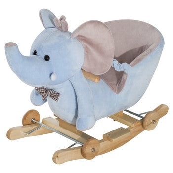 Ride to the stars on this wonderful elephant rocking horse for babies as young as 18 months