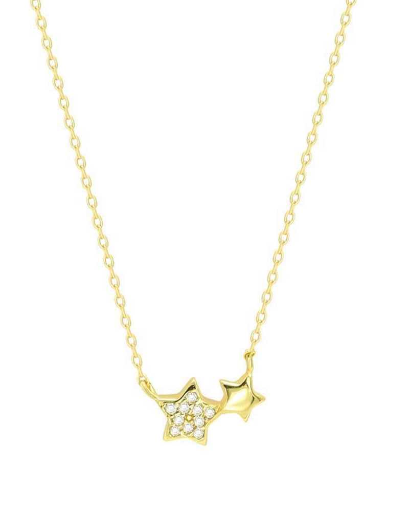 Double Stars Necklace