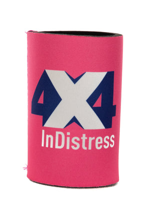 4x4 InDistress Stubby Cooler | Pink