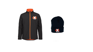 4x4 Indistress Jacket and Beanie Bundle|FREE Navy Stubbie Cooler