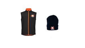 4x4 Indistress Men's Vest and Beanie Bundle | FREE Navy Stubbie Cooler