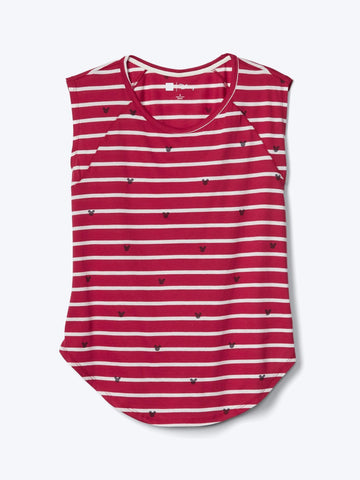 Gap  Disney Mickey Mouse and stripes tee