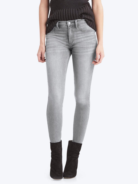 High Stretch Legging Jeans Gray Denim