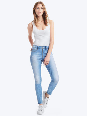 High Stretch Legging Jeans Light Indigo