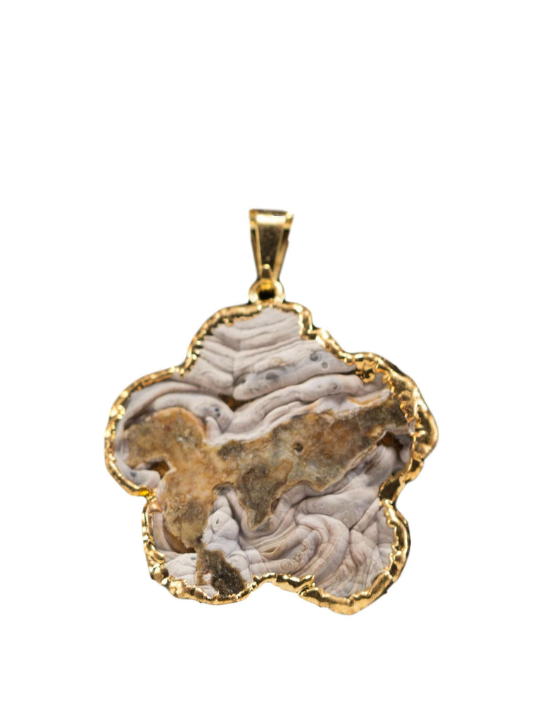 Agate Sculpture Pendants