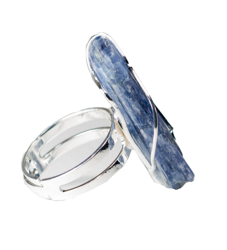 Raw Kyanite Ring