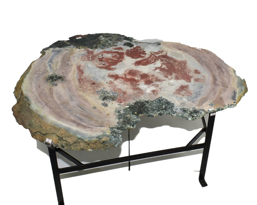 Jasper Side Table Medium Natural Rose