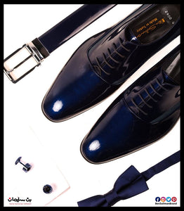 Oxford plain toe patent