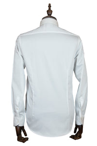 Slim-Fit Formal White Shirt