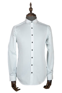Slim-Fit White Shirt