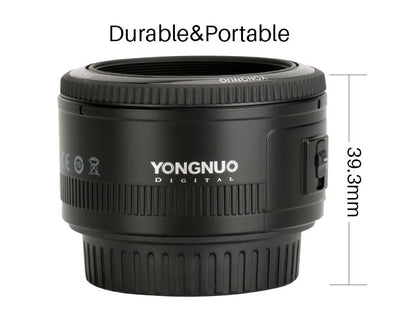 50mm YN50 F1.8 Camera Lens for Canon
